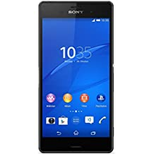 "Sony Xperia Z3 - Smartphone Android de 5.2"" (Full HD 1920 x 1080 p, Qualcomm Snapdragon 2.5 GHz, cámara de 20.7 MP), color negro"