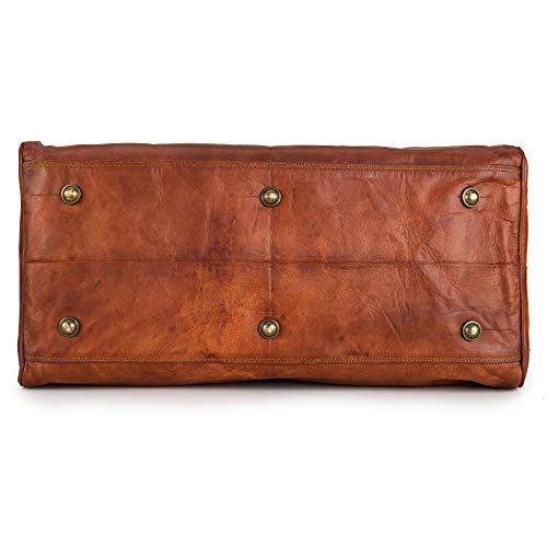 Berliner Bags Oslo XL Reisetasche aus Leder Weekender - 8
