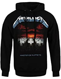 Metallica Master Of Puppets Sweat à capuche noir