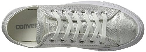 Converse All Star Ox Uomo Sneaker Grigio - silber / weiß