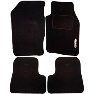 AoE Performance Perfectly Tailored Car Mats Exact Fit, Black
