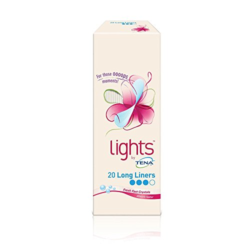 lights by TENA Long Liners (20 Liners)