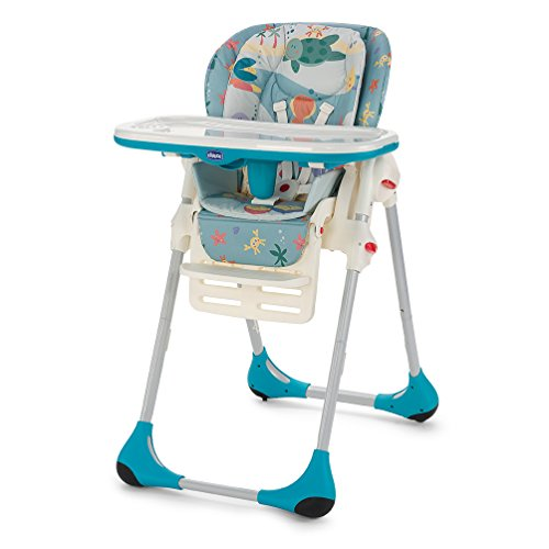 Chicco 00079065800000 Polly Seggiolone 2 in 1, Blu, Sea Dreams