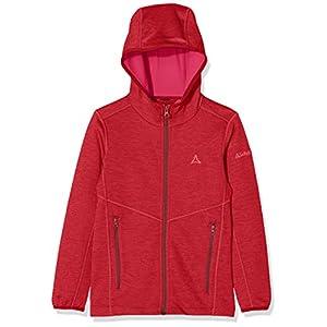 Schöffel Jungen Fleece Hoody Vaduz2, Weicher Pullover, Kapuzenjacke, Schnell Trocknend, Taschen – für Kaltes Wetter, Skifahren und Freizeit Fleecejacke