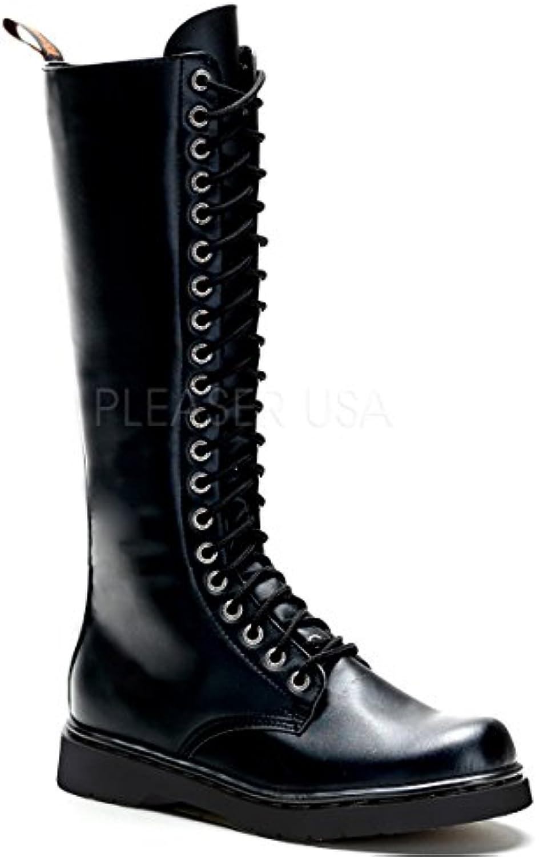 Demonia Veggie Military Combat Stiefel Defiant 410Demonia Military Stiefel Defiant 400 mattschwarz Billig und erschwinglich Im Verkauf