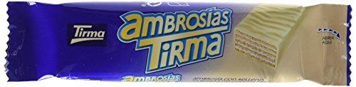 Tirma PT042241 - Ambrosías con Relleno Cubiertas de Chocolate Blanco - 1 x 35 Barritas