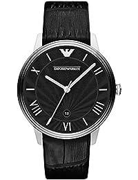 Emporio Armani End-of-Season Analog Black Dial Men's Watch - AR1611