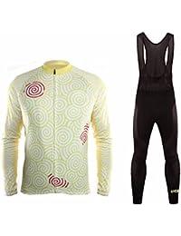 Uglyfrog 2018 Nuevo Maillot Ciclismo Invierno Hombres Jersey Pantalones Largos Mangas Largas de Ciclismo Ropa para Deportes al aire libre Ciclo Bicicleta MZ02