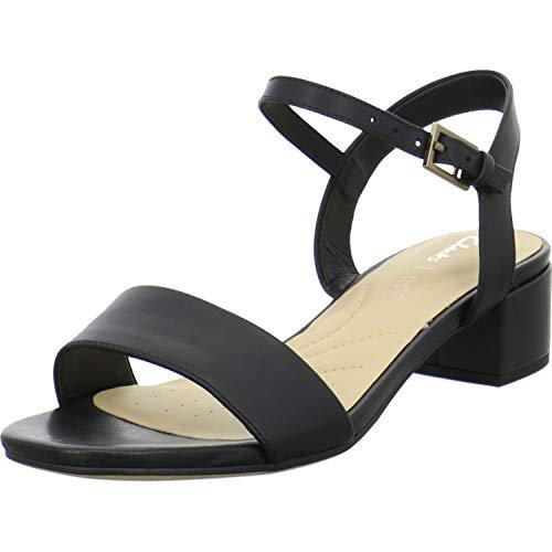 Clarks Orabella Iris Womens Sandals 5.5 D (m) UK/39 EU Schwarz