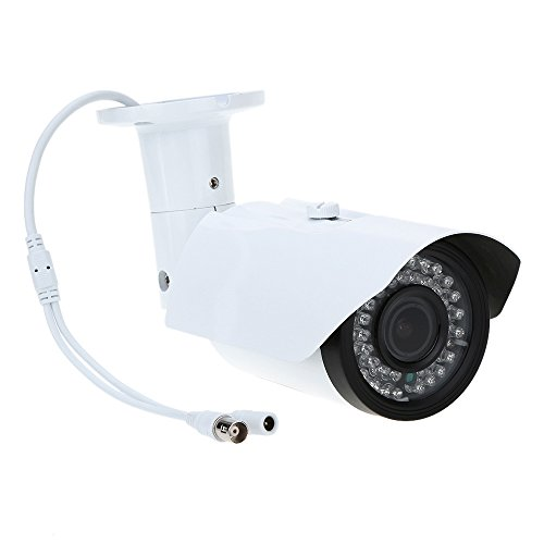 Kkmoon tp-w225bk telecamera videosorveglianza cctv camera 2.8-12mm 1200tvl 1/3