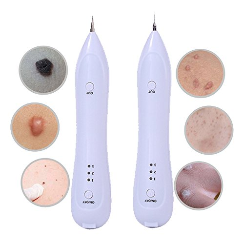 Designeez Electric Laser Face Wart Tag Tattoo Removal Pen For Salon & Home Beauty Care