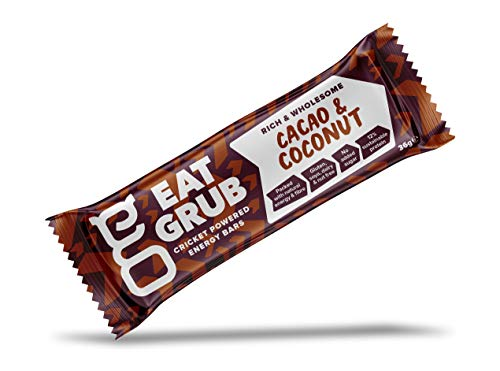 Barretta Energetica di Grillo in Polvere di Eat Grub (Cacao & Cocco)