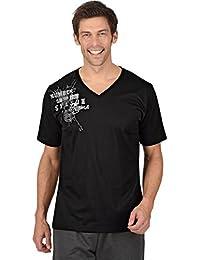 Trigema T-shirt col V coton