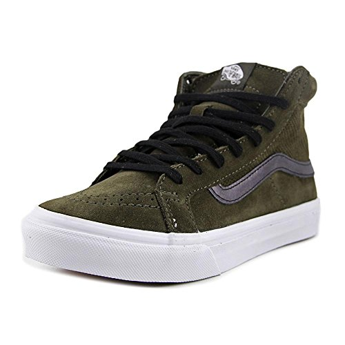 Vans Donna Tarmac/True Bianco Perforated Scamosciato SK8-Hi Slim Sneakers (perf suede) ta