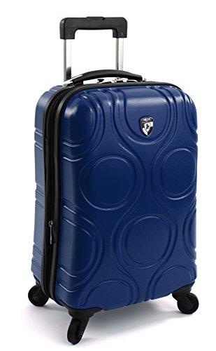 ... 50% SALE ... PREMIUM DESIGNER Hartschalen Koffer - Heys Core Eco Orbis Blau Trolley mit 4 Rollen Gross