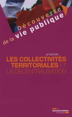Meilleur achat Les collectivités territoriales décentralisation