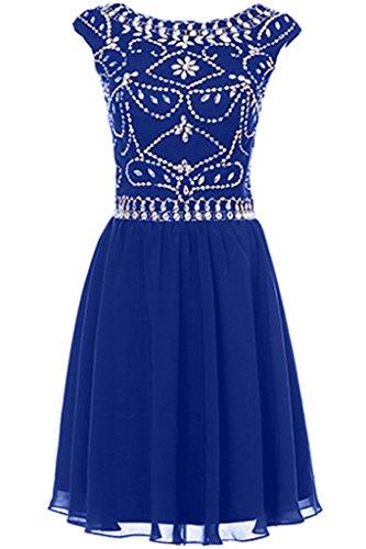 Missdressy - Robe - Plissée - Femme Bleu royal