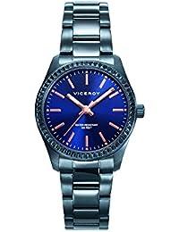 Reloj Viceroy Mujer 40860-37 Acero Azul