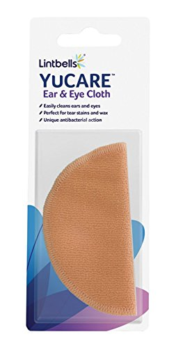 Lintbells YuCARE Ear & Eye Cloth with Natural Antibacterial Action 1