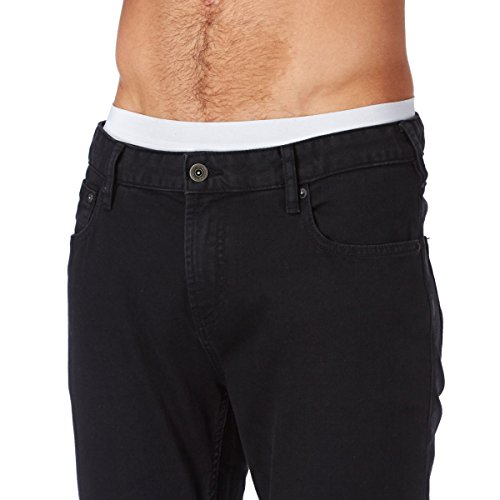 Scotch & Soda Herren Skinny Jeanshose 99119985094 Skim - The Nero Schwarz