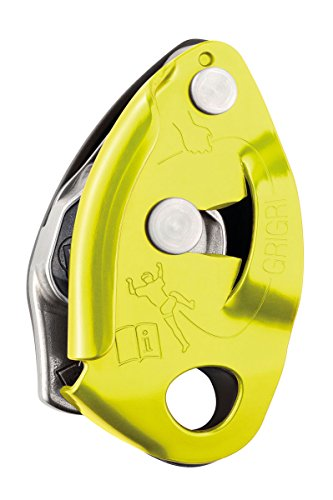 Petzl 2 Grigri 2, Yellow, One Size