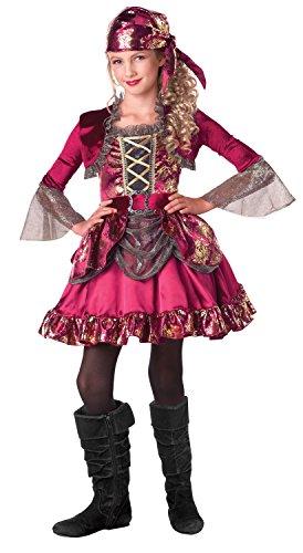 First Mate Piraten Kostüm bis, klein (4-6) ()