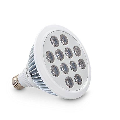 eSmart Germany Pflanzenlampe Leila | LED Pflanzenlicht | Pflanzenleuchte | Wachstumslampe für • Hauspflanzen • Wasserpflanzen | 36 Watt (1.800 lm) | 3:7:2 | rot, orange, blau
