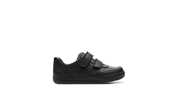 Clarks Boys Hook /& Loop School Shoes Blake Street
