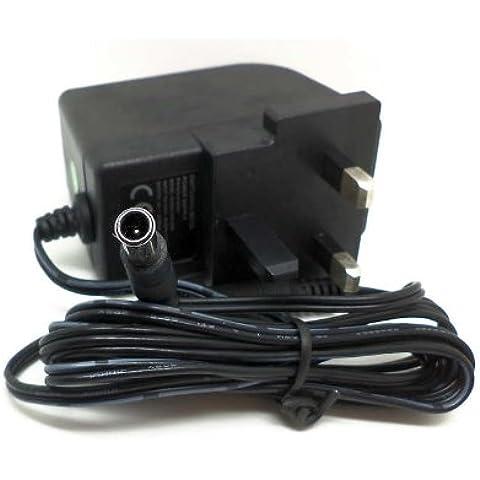 Pure Evoke DAB Radio 6Volt AC/DC adattatore di alimentazione–Centro Pin 6V di ricambio