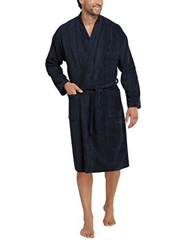 Preisvergleich Produktbild Schiesser Herren Funktionswäsche Bademantel, Blau (Dunkelblau 803), Medium (Herstellergröße:050)