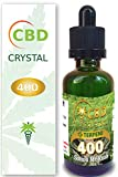 E-liquido Marihuana Cannabis CBD Crystal (sin THC) 400mg Pure CBD  99% - 30ml - Liquido para Cigarrillo electronico. E-Liquid SIN NICOTINA. Sabor Sativa Sr. Kush