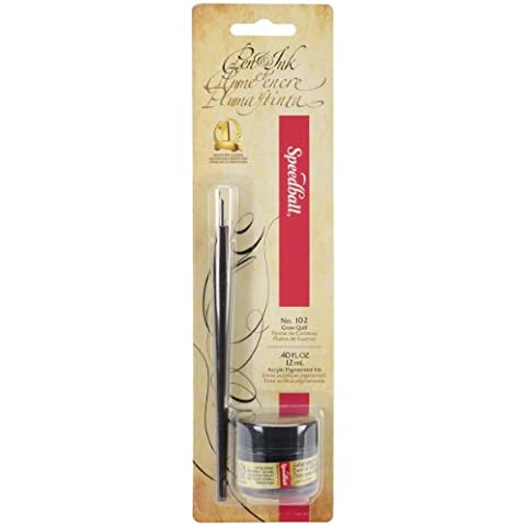 Speedball Pen & Ink - Black by Speedball Art Products - 102 Crow Quill