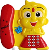 #6: Sky Solution Musical Telephone Toy-Battery Operated (Battery Not Included)