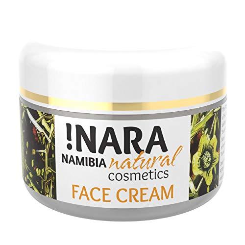 Nara Tagescreme, Naturkosmetik, reichhaltige Gesichtscreme für trockene und empfindliche Haut (1x50 ml) - Anti-falten Nährende Creme