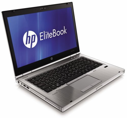 HP EliteBook 8460p 35,6 cm (14 Zoll) Notebook (Intel Core i5-2520M, 2,5GHz, 4GB RAM, 320GB HDD, Intel HD 3000, DVD, Windows 7 (Zertifiziert und Generalüberholt)