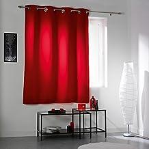Amazon.fr : Double Rideaux Rouge