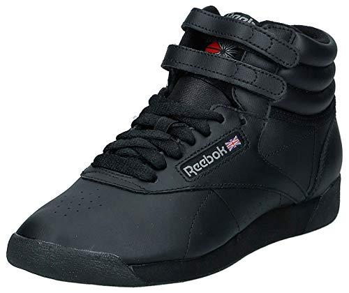 Reebok F/S Hi, Zapatillas de Deporte para Mujer, Negro Black, 37 EU