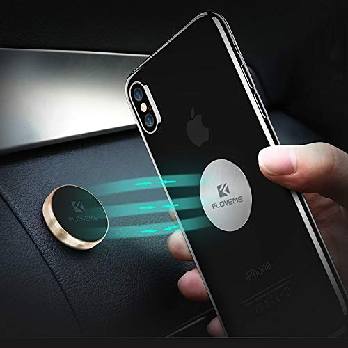 FLOVEME Magnethalter Universal Handyhalterung Auto KFZ Wand Halterung Universal für (Gold)