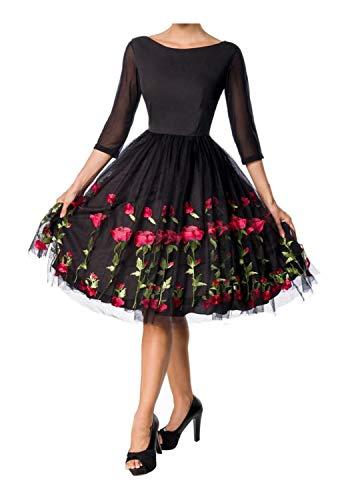 Belsira Damen Vintage Swingkleid M