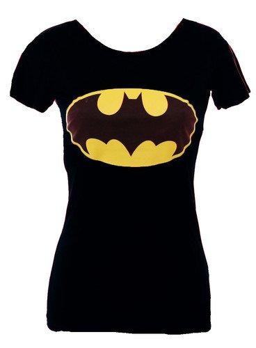 "Da donna nuove Stampa ""Batman Comic Hero Canotta Maglietta (misure S/M-M/L Black M/L"