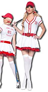Baseball fille Prime Costume L