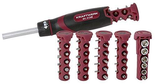 Kraftwerk-4134 Kit tournevis à cliquet 49 crochets. pas cher