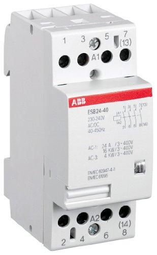 ABB 2071034 ESB24-40-230V Installationsschütz, 230 V - 24v Schütz