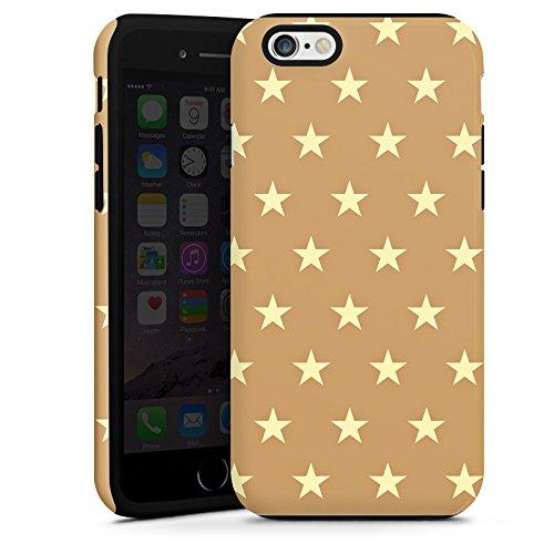 Apple iPhone 5s Housse Étui Protection Coque Petite étoile Motif Motif Cas Tough terne