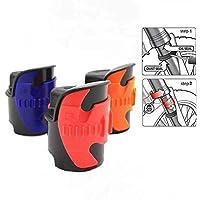 Mylujo - Junta para horquilla de carreras de motocicleta, grande, 45 mm-55 mm, herramientas limpiadoras, color naranja