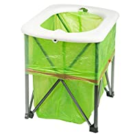 Cabilock Portable Folding Camp Travel Toilet Outdoor Hiking Camping Supplies