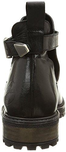 Yep Abbie 1066, Boots fille Noir (Cuir Noir)