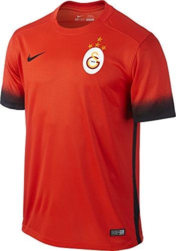 Nike 3ème équipe Galatasaray 2015 2016 – Maillot Officiel S Rojo Negro (Lt 7fef51e59