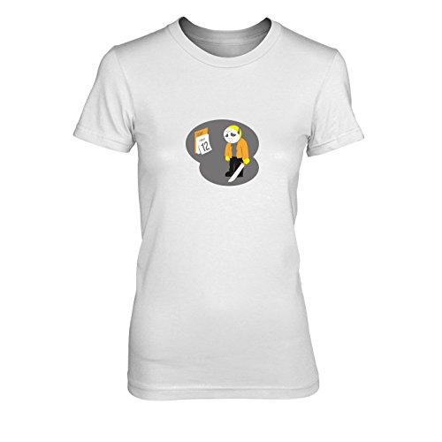 Poor Jason - Damen T-Shirt, Größe: XL, Farbe: weiß