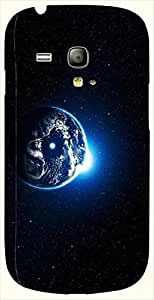 Attractive multicolor printed protective REBEL mobile back cover for S3 Mini / Samsung I8190 Galaxy S III mini D.No.N-L-12588-S3M